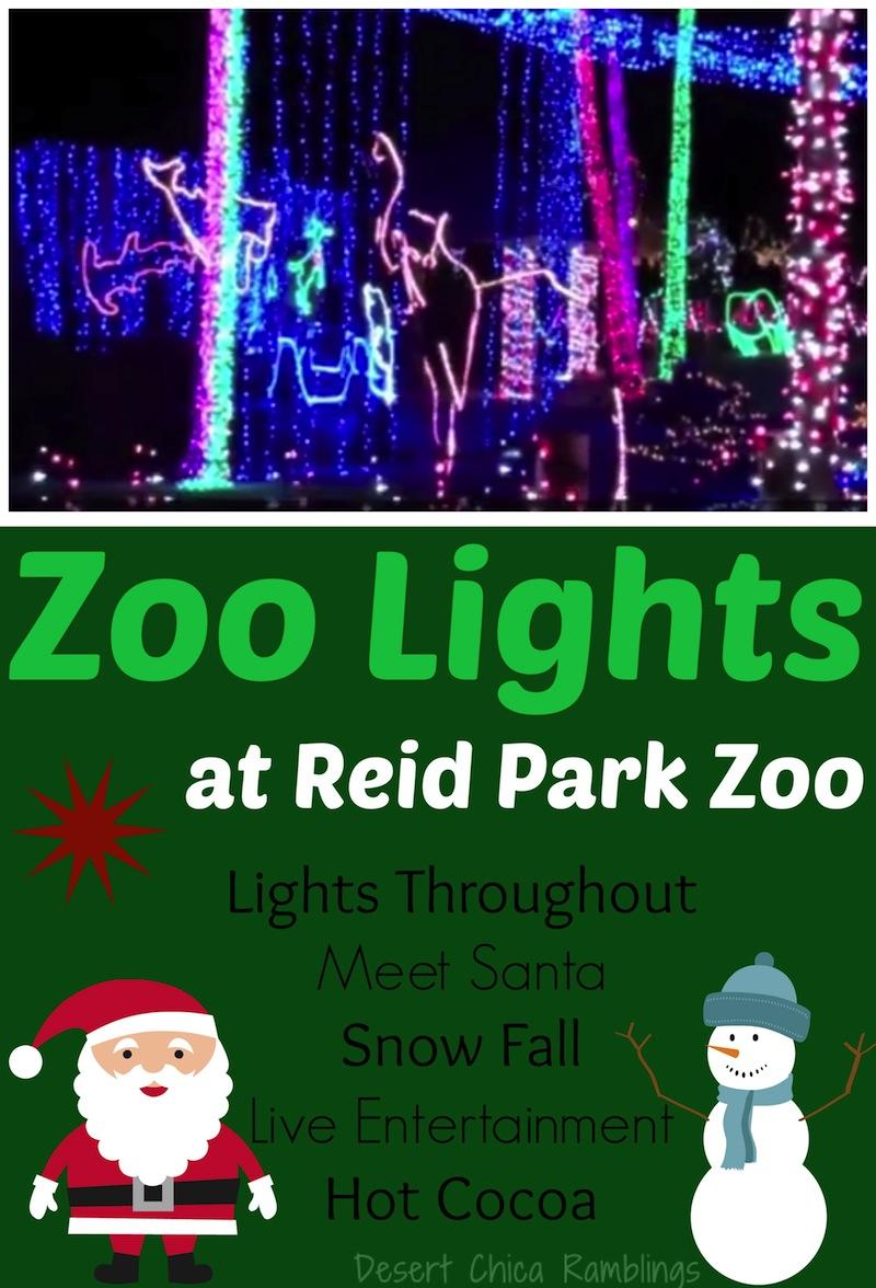 Zoo Lights Tucson Hours