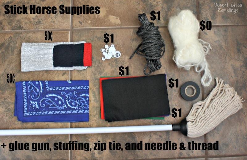 Stick Horse Supplies
