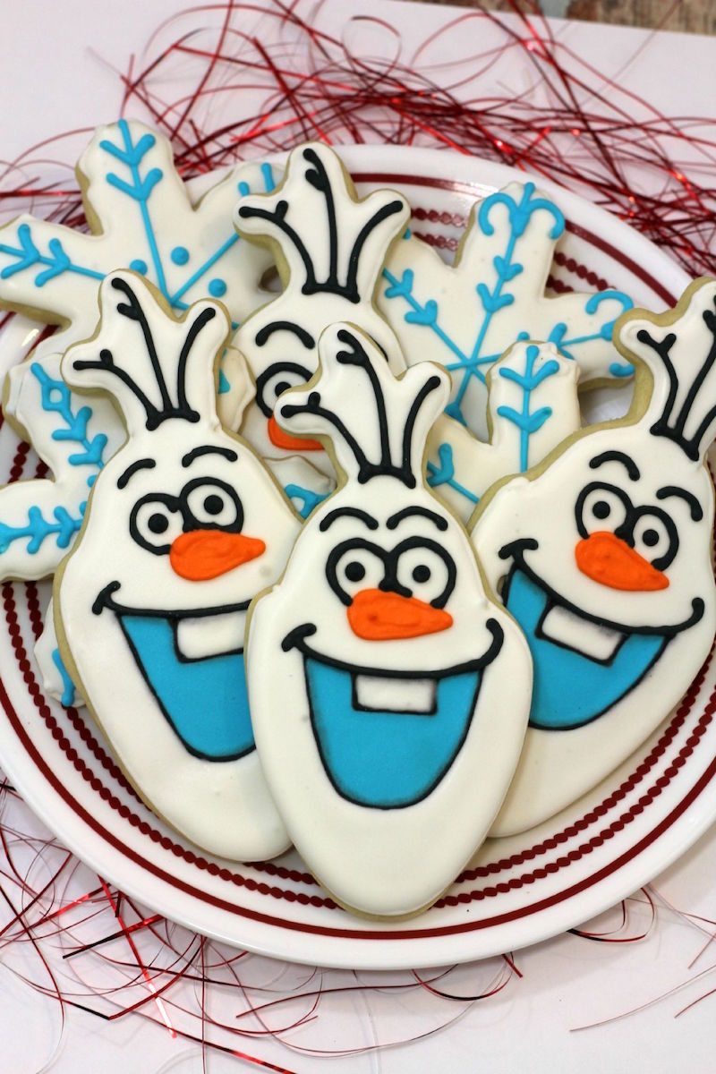 Adorable Olaf Cookies from Tammilee Tips