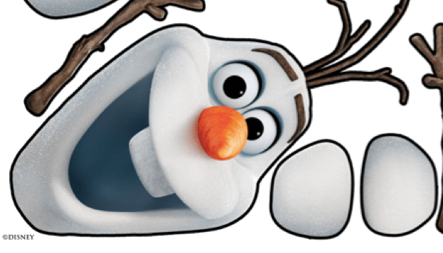 Olaf Eyes Template