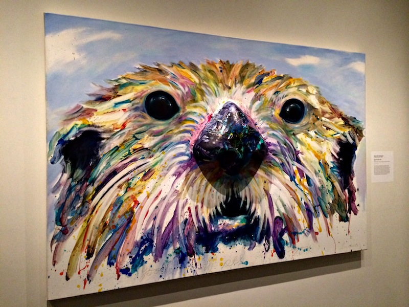 Sea Otter at Anchorage Museum