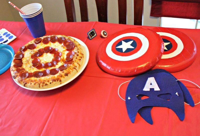 Captain America Table #shop