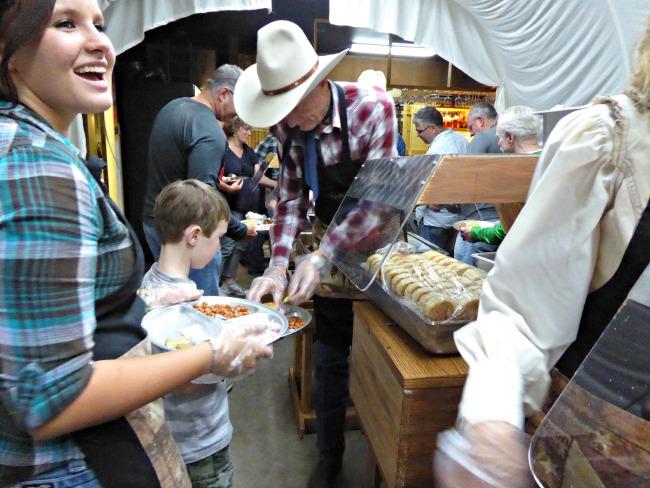 Blazin M Ranch Chuck Wagon