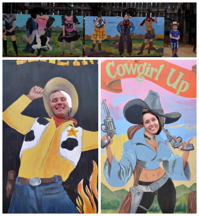 Cowboys at Blazin M Ranch