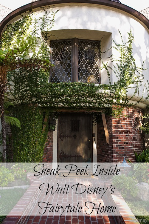 Sneak Peek Inside Walt Disney's Fairytale Home