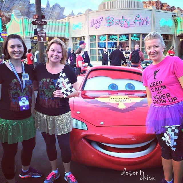 Disneyland RunDisney Fun Run DisneySMMoms