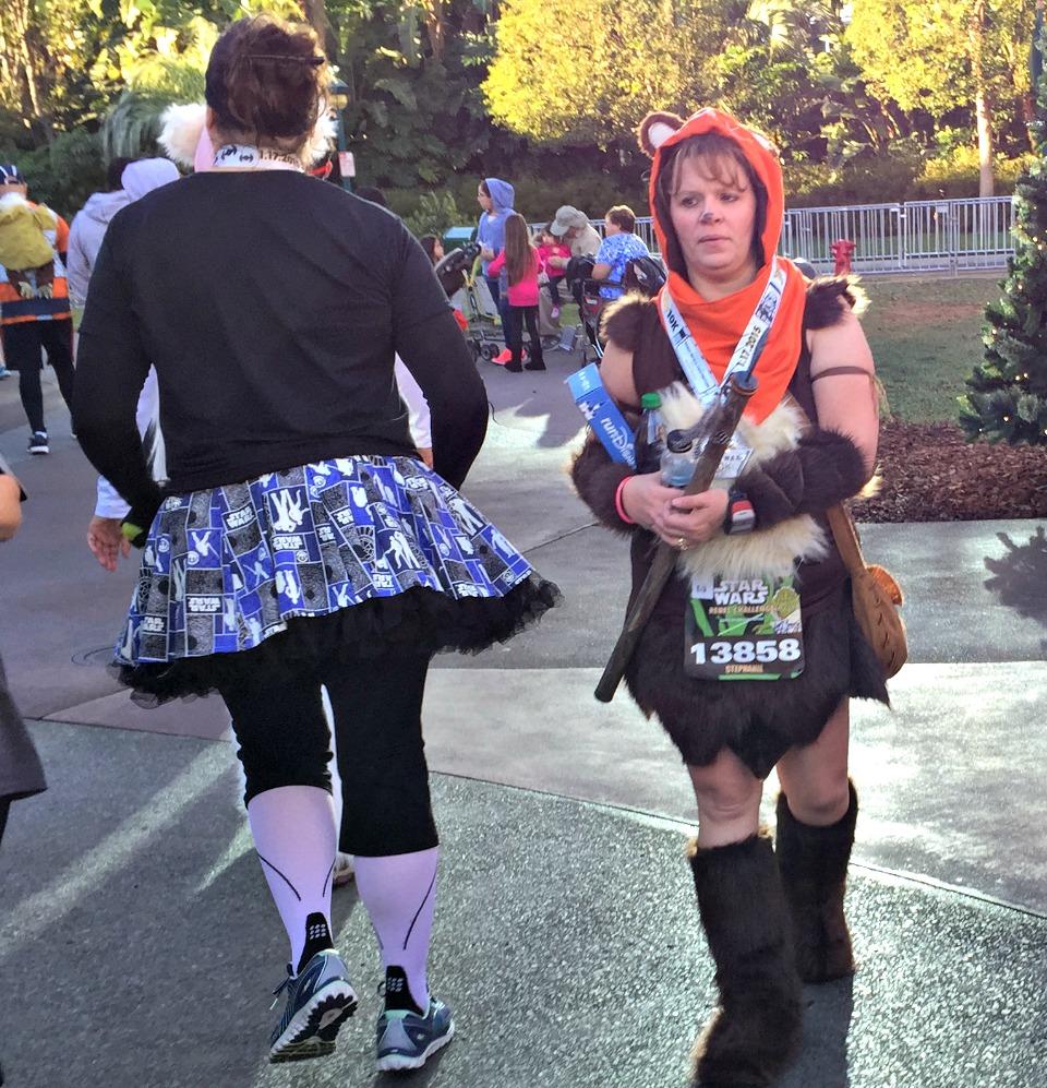 Ewok Running Costume