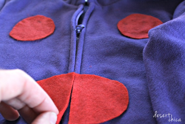 DIY Hiro Hamada Big Hero 6 Costume with Felt