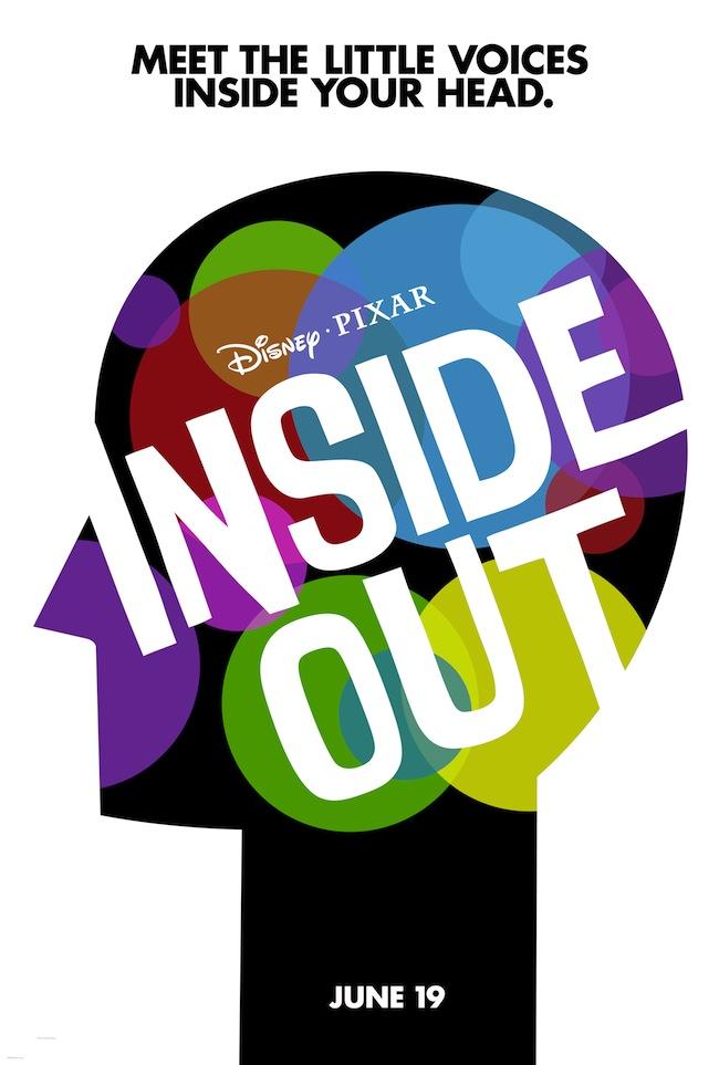 Inside Out Pixar Poster