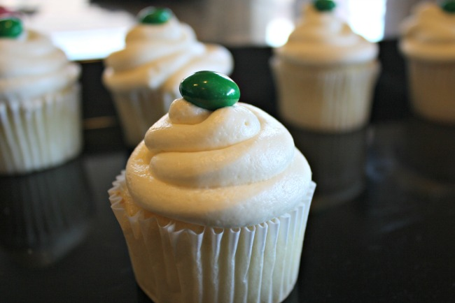 MM Topped Neverbeast Cupcakes
