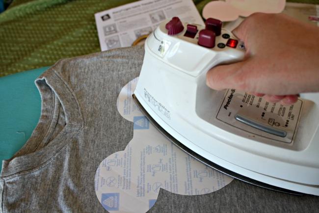DIY Hulk shirt iron on transfer