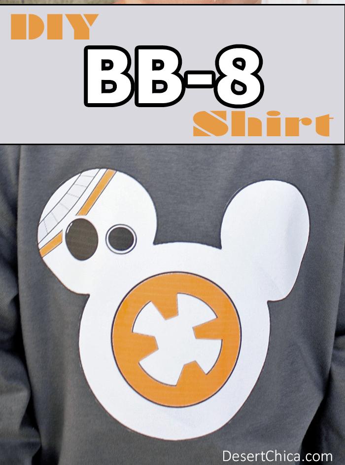 Star Wars The Force Awakens BB-8 Shirt