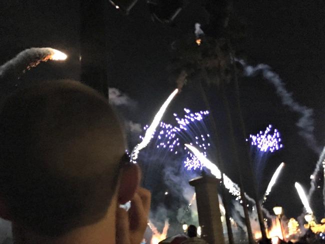 Iluminations Fireworks Dessert Party