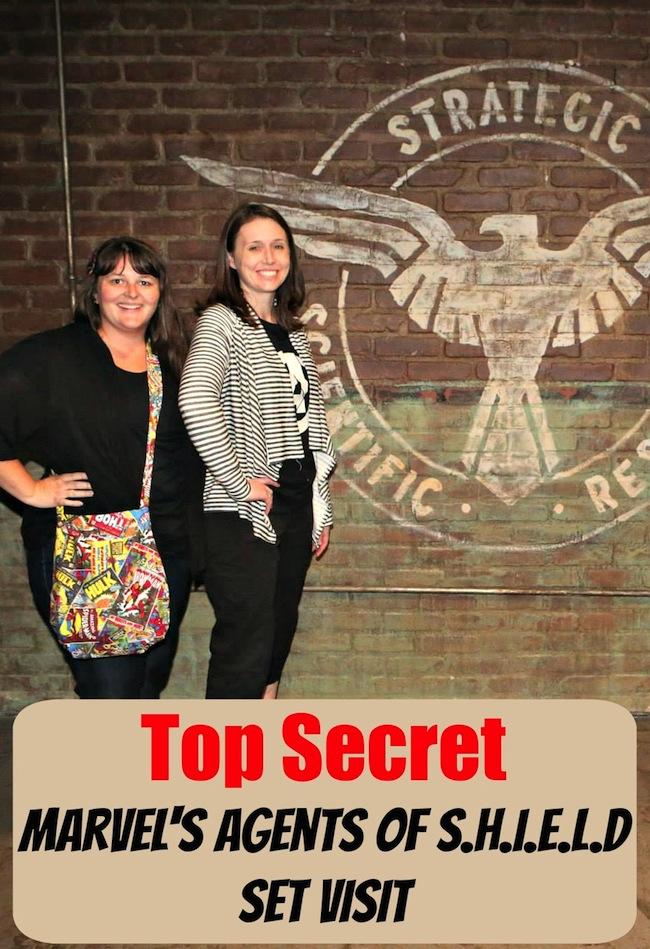 Top Secret Marvel's Agents of Shield Set Visit
