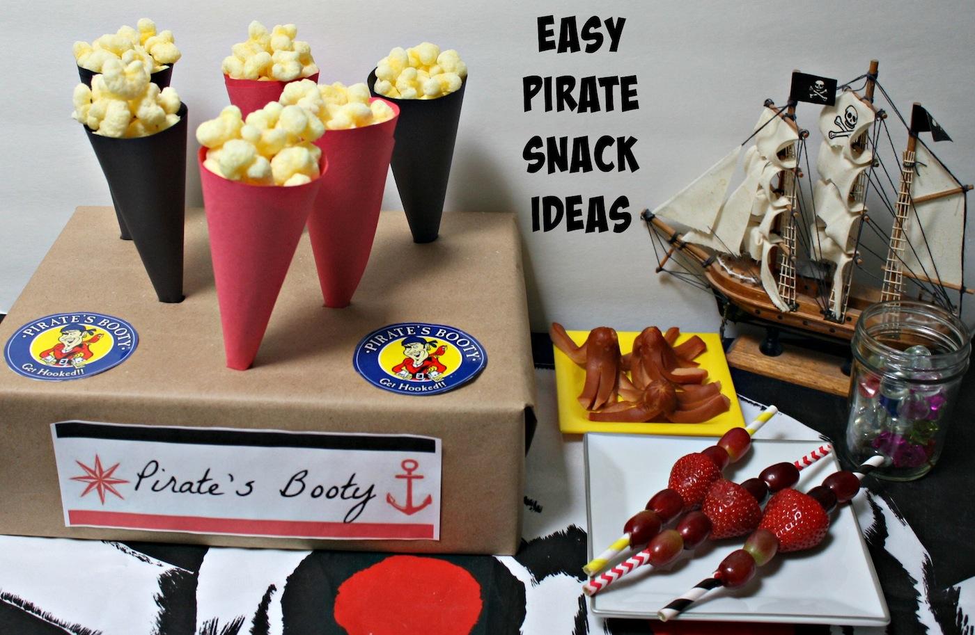 Easy Pirate Snack Ideas