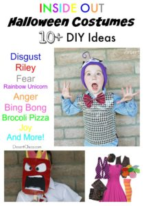 Inside Out Halloween Costumes