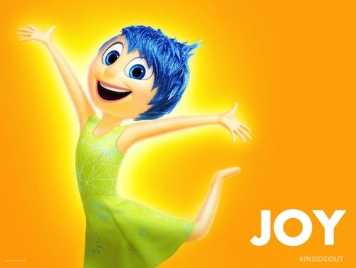 Joy inside out character