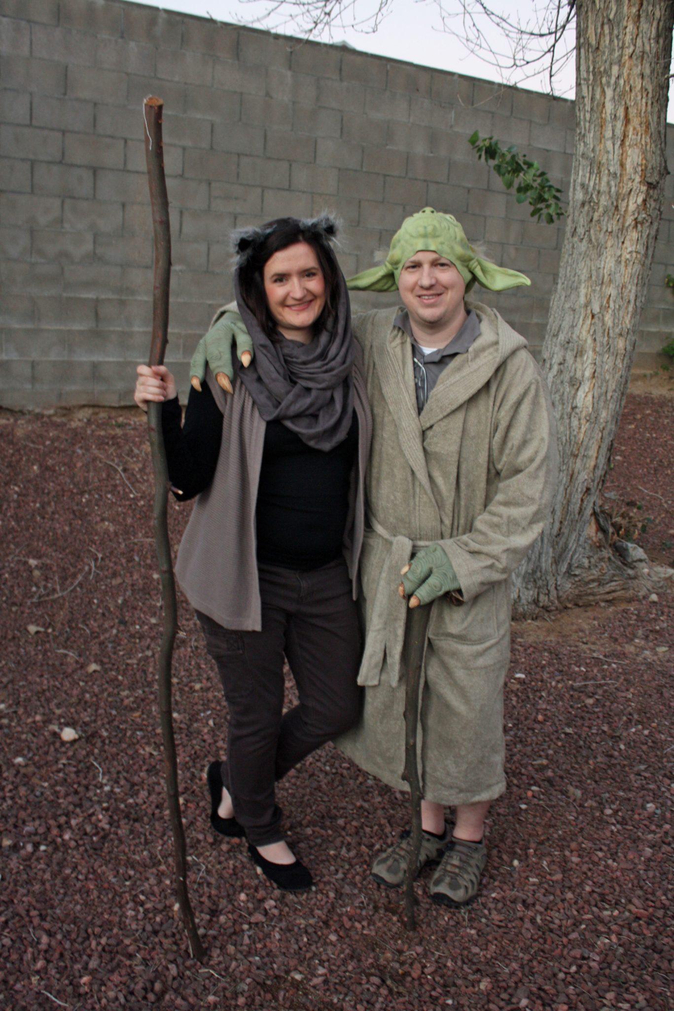 Ewok and Yoda