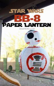 DIY Star Wars BB-8 Paper Lantern Craft