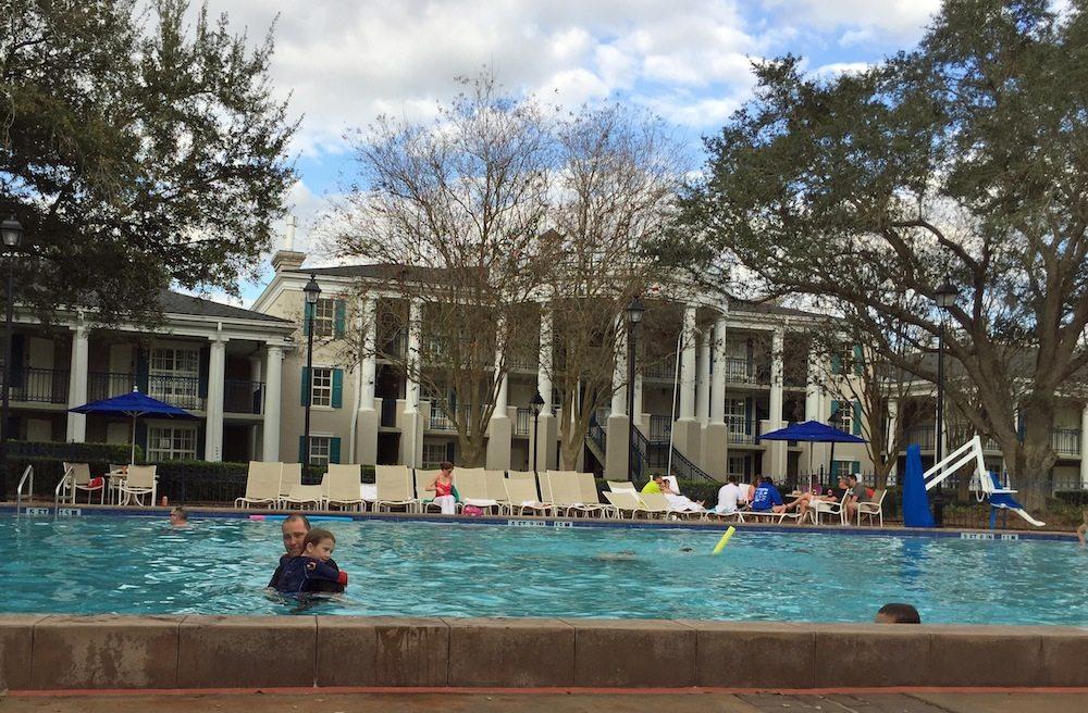 Port Orleans Riverside Quiet Pool Magnolia Bend