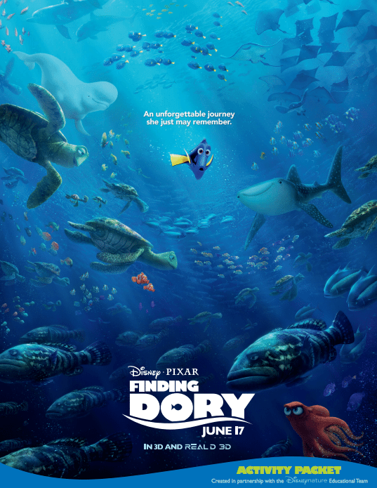 Finding Dory Education Activity Packet