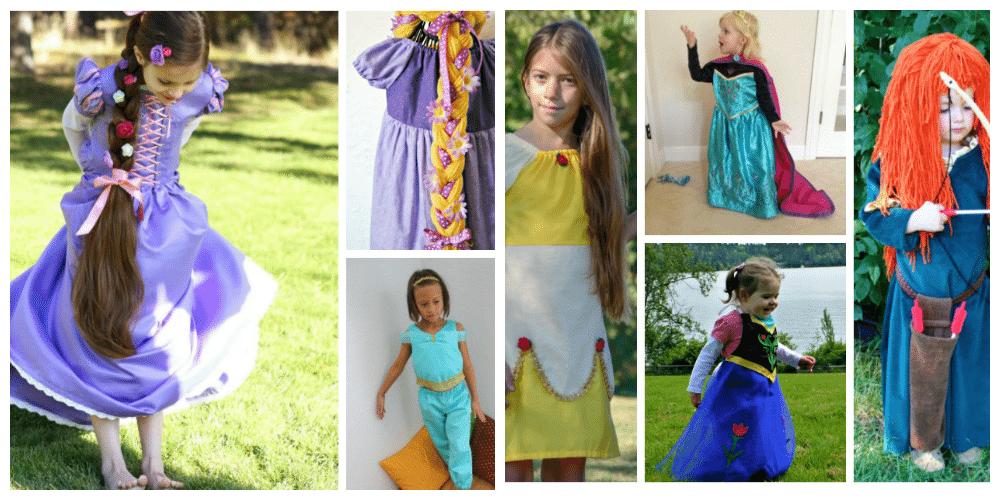 How to make DIY Disney Princess Costumes