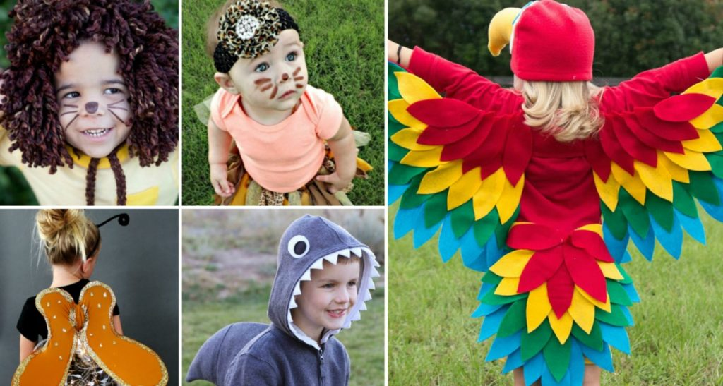 Adorable Animal Costumes For kids