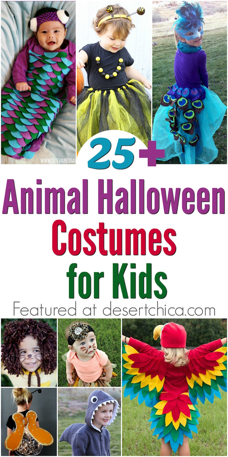 Over 25 Animal Costume costumes for kids