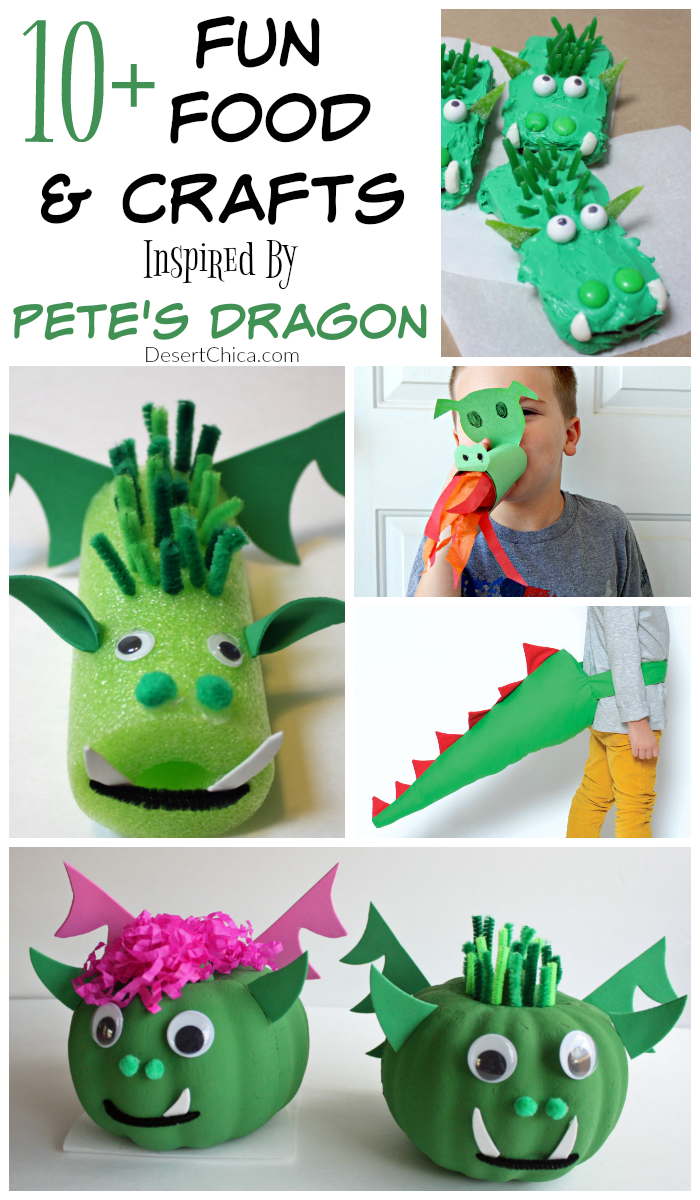 Ready for some Pete's Dragon fun? Pick up your own copy and plan a fun movie night with this list of Pete's Dragon Fun Food and Craft ideas.