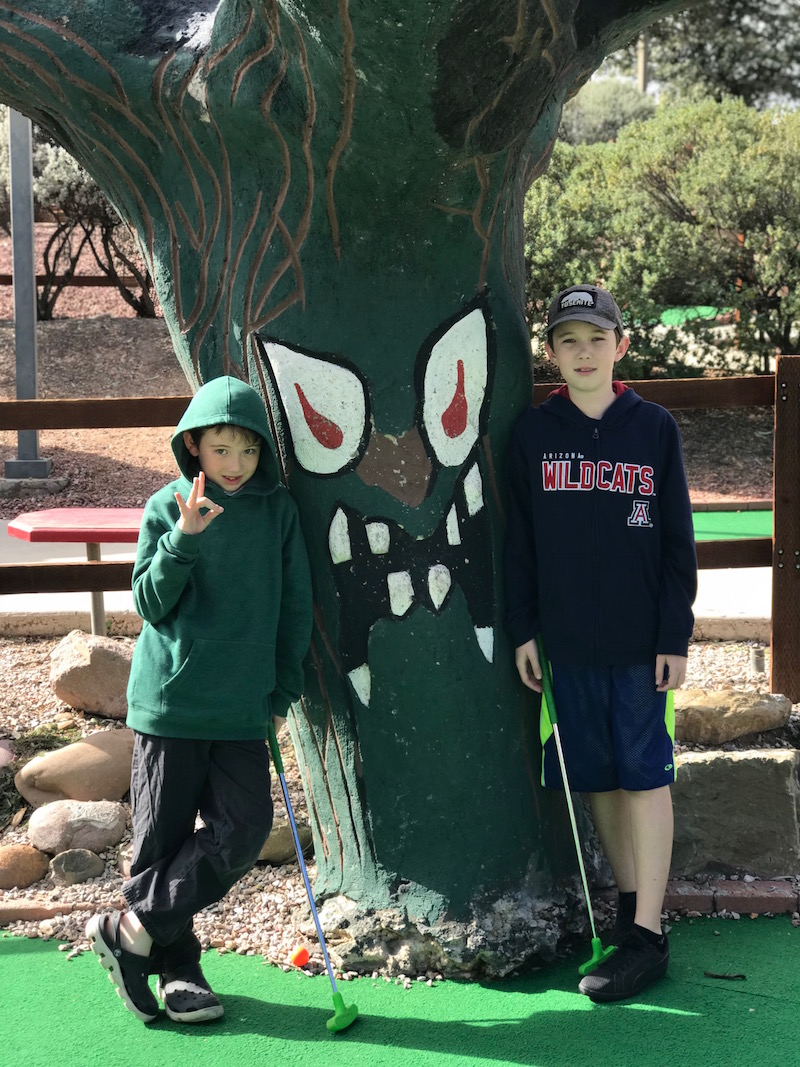 Mini golf and more make Funtasticks a fun gift experience for kids in tucson