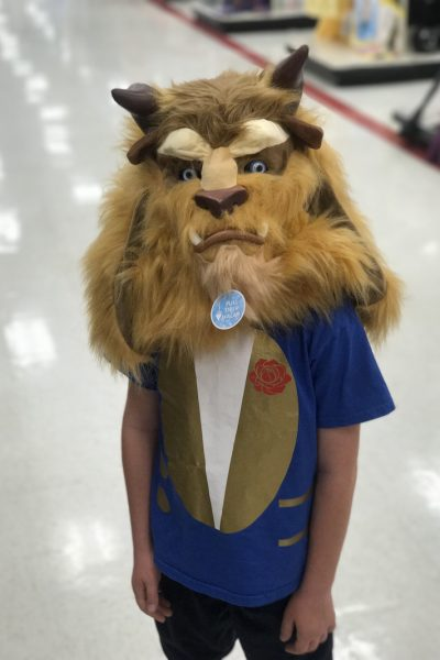 Easy Beauty and Beast Costume
