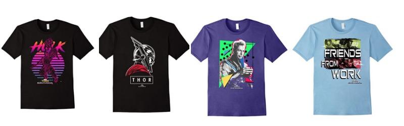 Thor Ragnarok T-shirts