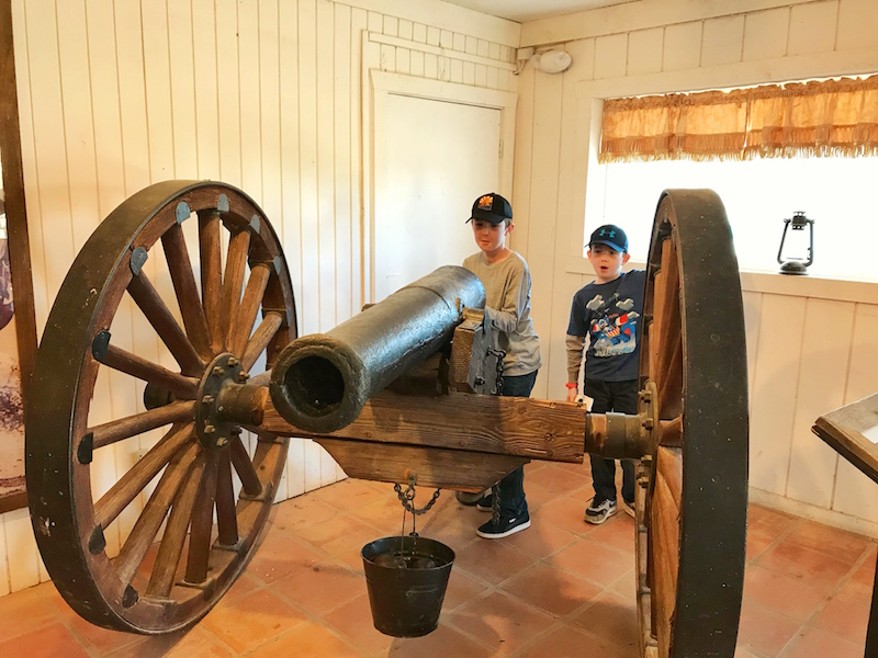 Museums at Old Tucson Studios with kids