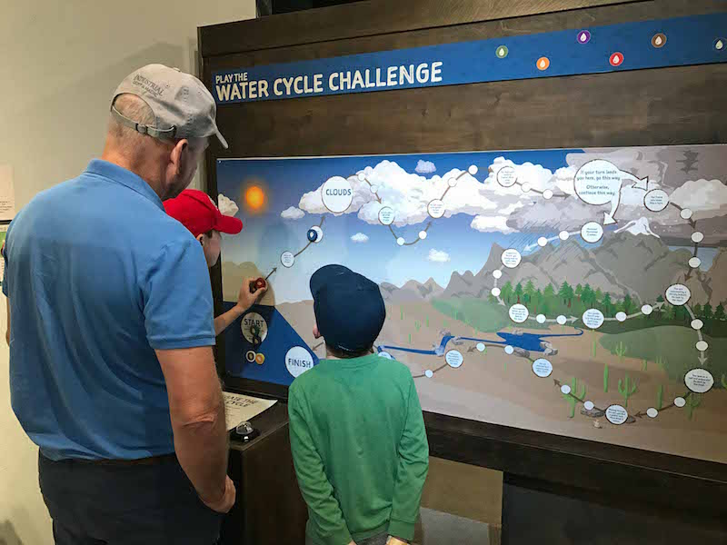 Fun Things to do in Tucson with kids: Science exhibits at Flandrau Planetarium