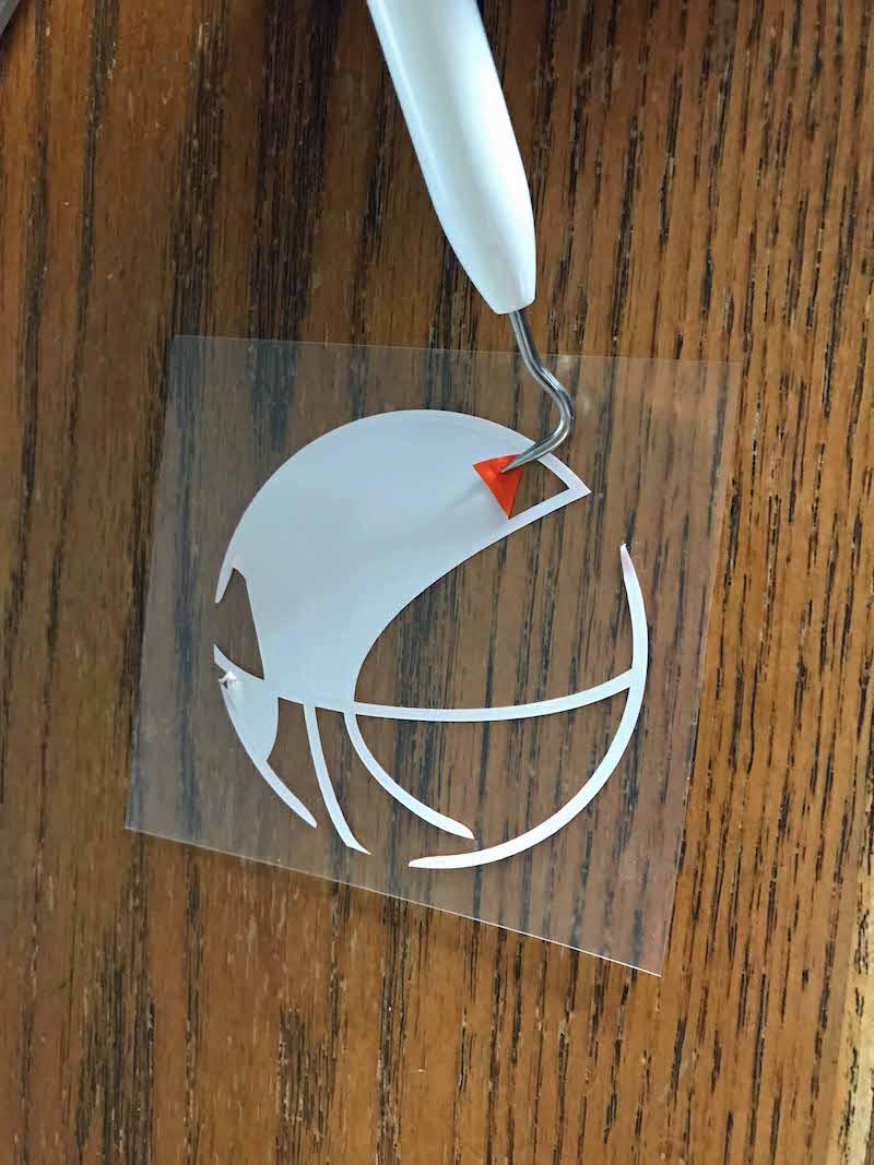 Weed sportsflex vinyl with tool for DIY Arizona Basketball Shirt