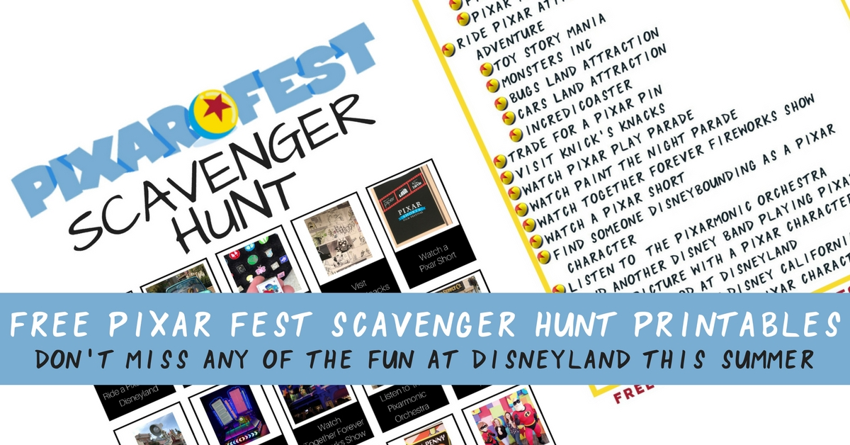 Don't miss any of the Pixar fun during Pixar Fest at Disneyland