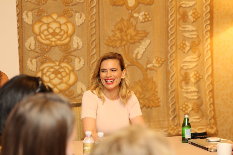 Hayley Atwell Interview for Christoper Robin Movie