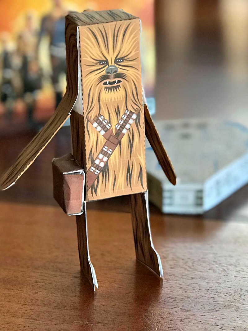 Star Wars Papercraft Chewbacca