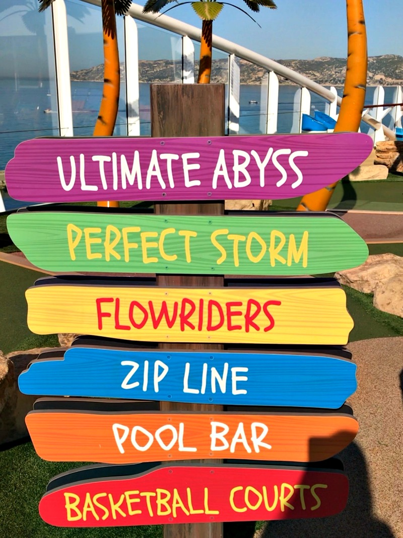 Lots of fun things to do for kids on Symphony of the Seas Ship
