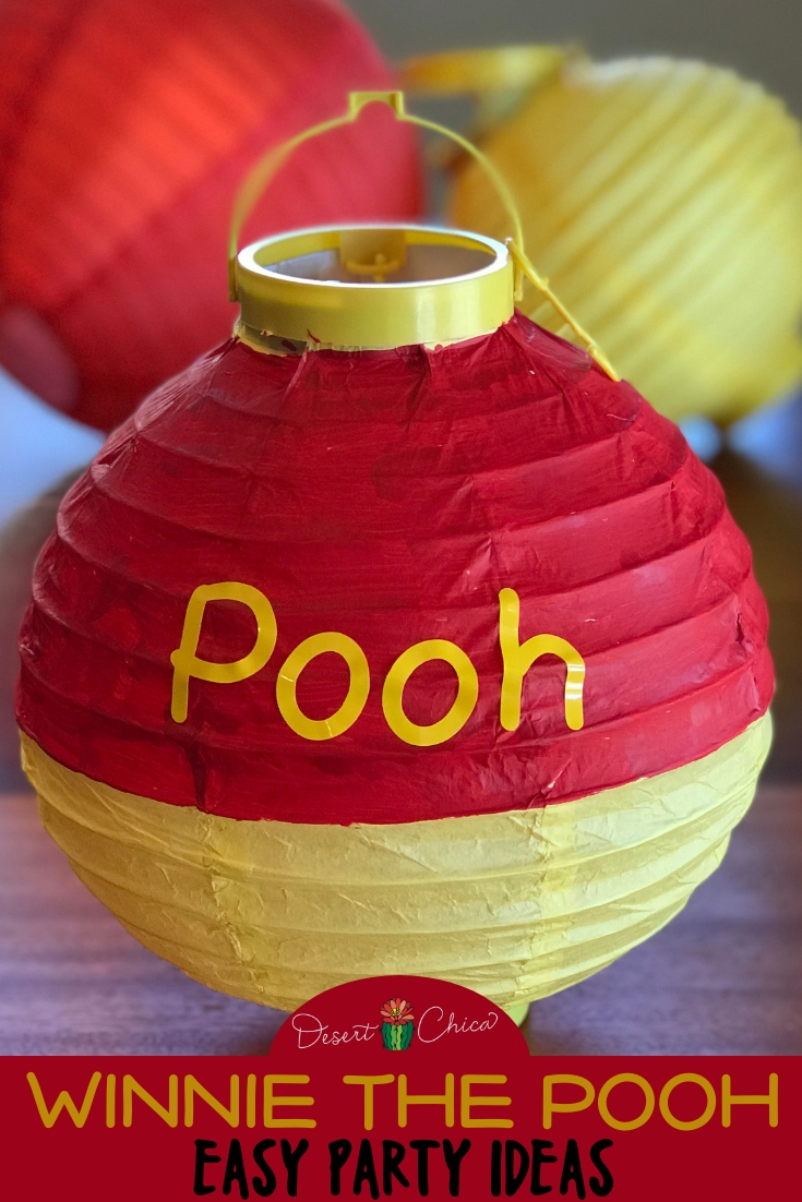 Check out these easy Winnie the Pooh party ideas including DIY games, decorations, printables recipes, and other food ideas. Winnie the Pooh Baby Shower Ideas | Pooh Bear Baby Shower Ideas | Winnie the Pooh First Birthday #WinnethePooh #PartyDecorations