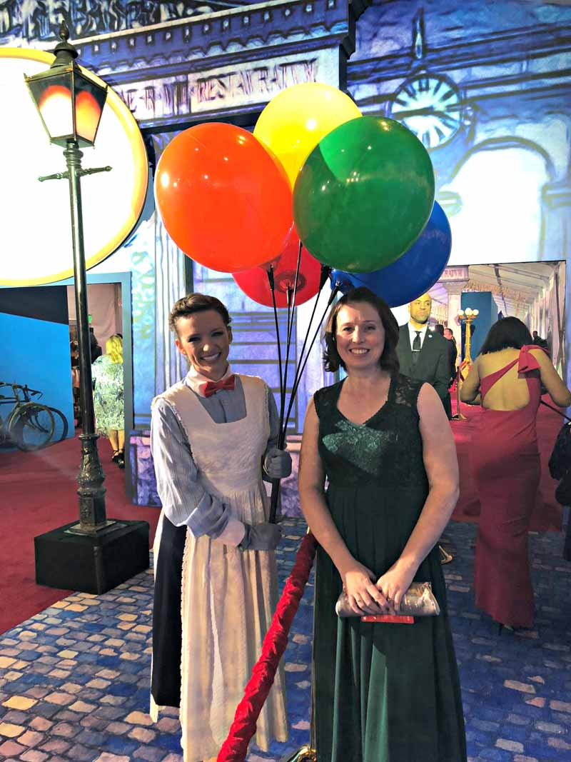 Balloons at the Mary Poppins Returns Red Carpet Premiere