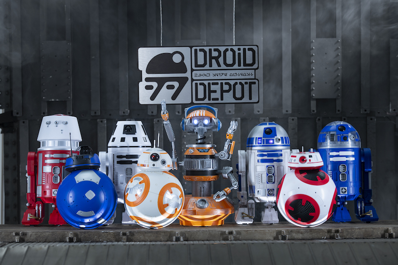 Star Wars: Galaxy's Edge Merchandise – Custom Droids