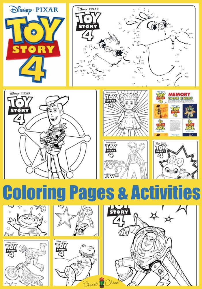 Excited for Toy Story 4 coming out in June? Check out these free printable coloring pages and activities featuring your favorite Toy Story characters like Buzz Lightyear, Sheriff Woody, Aliens, Jessie, Rex, and Bo Peep. There are also fun coloring pages for new characters like Gabby Gabby and Duke Caboom. Unfortunately, there is no coloring page for Forky yet. Disney Coloring Pages | Colouring Pages for Kids | Toy Story Birthday Party Ideas | Coloring Pages for Kids | Coloring Sheets | Toy Story Characters