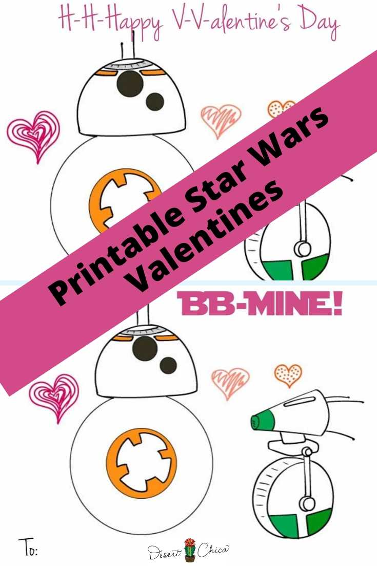 D0 and BB-8 Droid Valentines