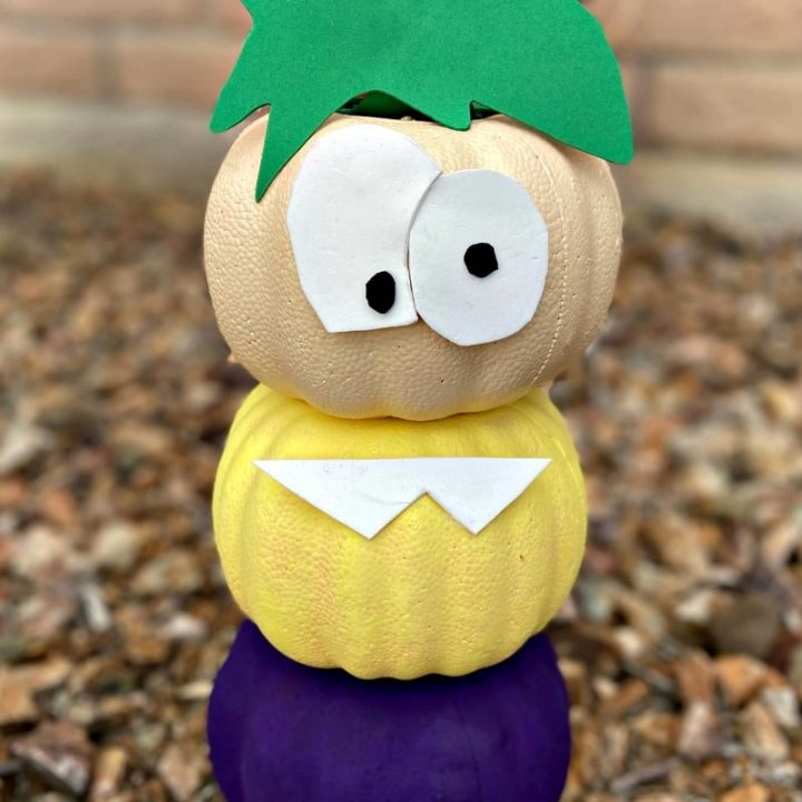 Ferb Pumpkin Craft