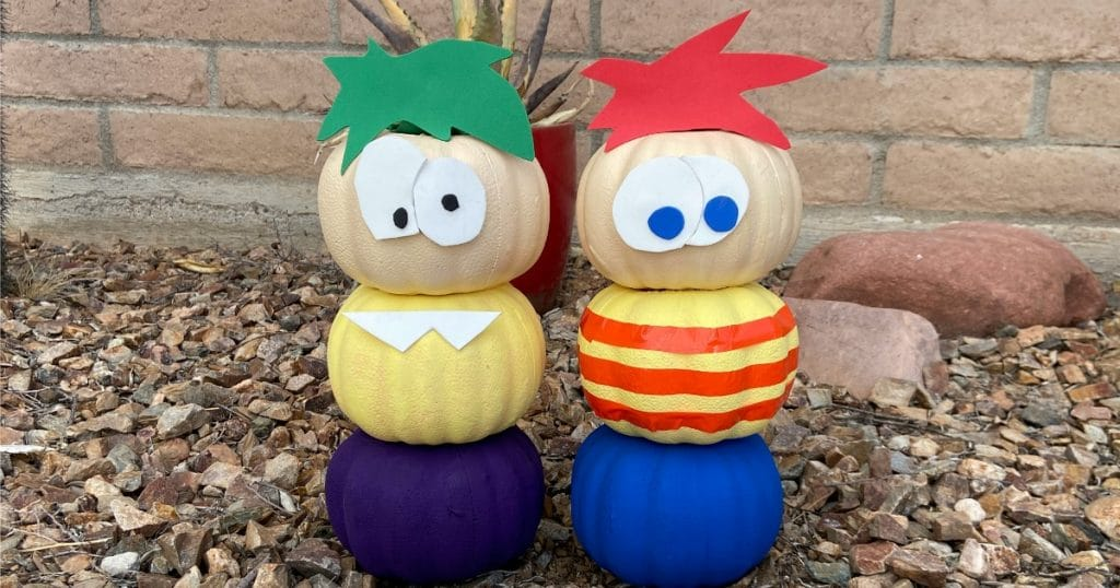 Phineas and Ferb Pumpkins