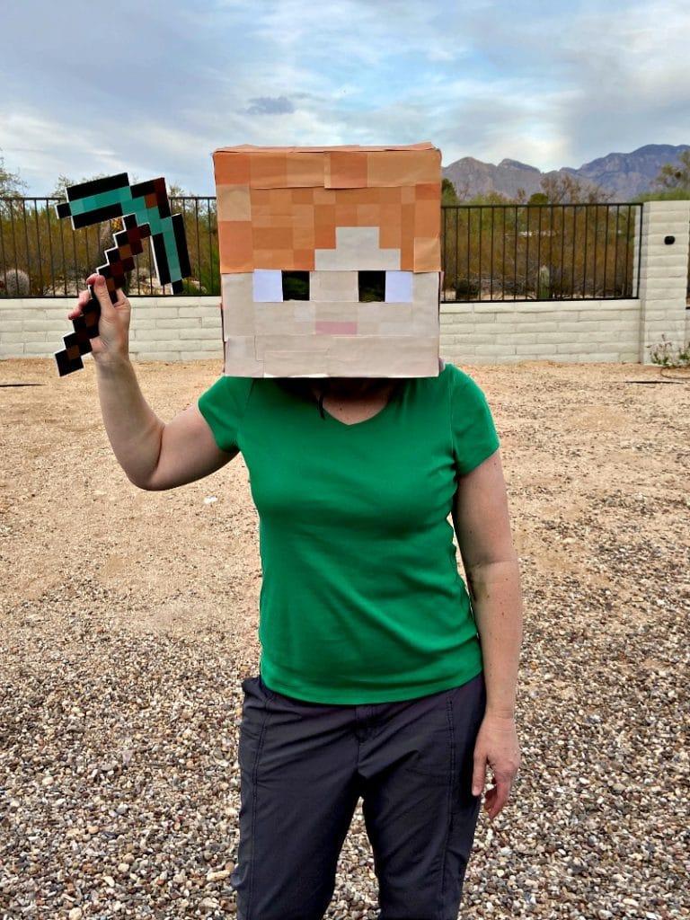 Minecraft Alex Costume