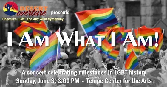 "Desert Overture presents ""I Am What I Am"" on June 3"