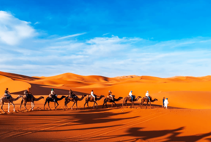 2 day tour from Marrakech to Merzouga desert