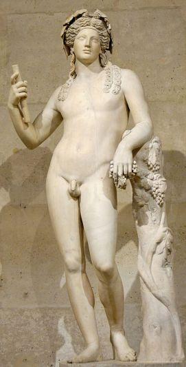 Bacchus, minus tunic (again)